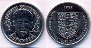 UK GB - Jeton Token - 1998 England Squad Medal - Gareth Southgate - Defender UNC - Professionnels/De Société