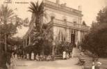 CPA CANNES. Villa Excelsior, Personnages, Femmes Jeu Du Croquet. - Cannes
