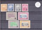 COLOMBIE - POSTE AERIENNE - YVERT N°A207/214 ** - INFIME TACHE SUR 3 TIMBRES - COTE = 90 EUROS - Colombie