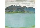Le Lac De Thoune Et La Chaîne Du Stockhorn, Par Ferdinand Hodler, 1912 - Peintures & Tableaux