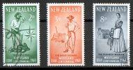 New Zealand 1960 Westland Centennial Set Of 3 Used - New Zealand