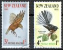 New Zealand 1965 Health - Birds Used - New Zealand