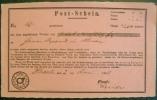 1858 T+T Postschein Aus Thannhausen Sendung Nach Hanau - Deutschland