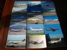 CPM  Avion : Lot De 140 Cartes Boeing  747  Tirage Récent Beaucoup à 600 Ou 800 Ex - 1946-....: Moderne