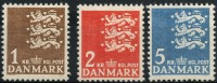 Danemark (1946) N 304 à 306 ** (Luxe) - 1913-47 (Christian X)