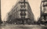 Paris/ Carrefour Des Rues Daret Et Pergolèse. Cpa Animée Assez Rare. - Arrondissement: 16