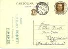 REF LIT10/COR - ITALIE EP C P IMPERIALE 30c VOYAGEE - 1er SERVICE AERIEN INTERCOLONIAL ROME / MOGADISCIO 25/2/1935 - Ganzsachen