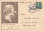 Châteaux - Allemagne - Empire - Entier Postal De 1933 - Freiherr Vom Stein - Castelli
