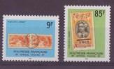 Polynesie N° 27 Et 28**, TIMBRE DE SERVICE Neuf Sans Charniere - Service