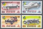 North Korea 1985 Mi No. 2697-2700 Old Cars - Automobili