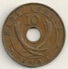 East Africa 10 Cents 1941 I -  KM#26.1 - Colonia Britannica