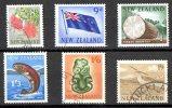 New Zealand 1960 - 6 Values 8D To 1s9 Used - New Zealand