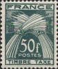 France Taxe N* (Yv: 88 Mi: 91) Yv:15,5 Euro Timbre Taxe Epis De Blé (trace De Charnière) - 1859-1955 Mint/hinged