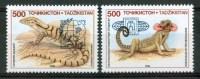 "1995 Tagikistan Beijing ""95"" Fauna Rettili Reptiles Set MNH**B241 - Tagikistan"