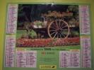 Almanach Du Facteur 1996 - LOCHES Jardin Public Charette Fleurie LE MANS Plantes - VOSGES  N°88 - LAVIGNE - LA POSTE - Calendarios