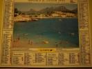 Almanach Du Facteur 1995 -iles De Porquerolles Var Cassis Bouches Du Rhône - Vosges N°88  OLLER  - LA POSTE - Calendriers