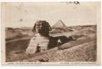 LE CAIRE - Le Sphinx Et La Pyramide - Egypte