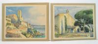 ANTIBES : Musée Grimaldi Et Les Remparts + La Chapelle Du Phare De La Garoupe - Autres