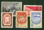 Armée De Libération - Pont Sur Le Yang Tsé - CHINE - Effigies De Marx Et Lénine - Industrie Et Agriculture - Transports - Used Stamps