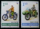 MOTOCYCLISME 2008 - NEUFS ** - YT 599A99B - MI 522/23 - Bosnia And Herzegovina