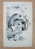 Brigitte BARDOT : Dessin Original De Victor VIKO (1915-1998) - JUDAICA - Autres Collections