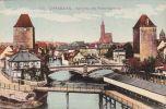 Cp , 67 , STRASBOURG , Vue Prise Des Ponts Couverts - Strasbourg