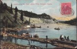 CPA - (Canada) Whitehorse, Yukon - Looking Up The River Above Miles Canyon (obl.) - Sonstige