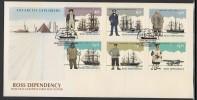 Ross Dependency 1993 Antarctic Explorers FDC - Dependencia Ross (Nueva Zelanda)