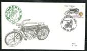 Belgie Belgique Belgium Belgica  1995 Classic Motorcycles Motos FDC  Minerva 1908 - Motorbikes