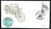 Belgie Belgique Belgium Belgica  1995 Classic Motorcycles Motos FDC  FN 1913 - Motorbikes