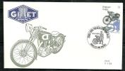 Belgie Belgique Belgium Belgica  1995 Classic Motorcycles Motos FDC Gillet 1937 - Motorbikes