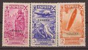 TA6-4053TCM.Spain .lote    BENEFICENCIA.Historia Del Correo.TANGER ESPAÑOL1939.(Ed 6/11**) Sin Charnela..LUJO - Viñetas De Fantasía