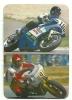 1989 Pocket Poche Bolsillo Calender Calandrier Calendario  Motorbikes Motorcycles Motos Collection With 11 - Big : 1981-90