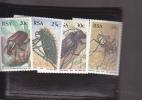South Africa - Beetles - MNH - Scott # 690-693 - South Africa (1961-...)