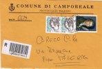 CAMPORREALE  (PA)  /  SICILIA  - Tematica  Comuni D´Italia - Storia Postale  Repubblica - Affrancature Meccaniche Rosse (EMA)