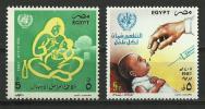 Egypt 1987 ( World Health Day - Oral Rehydration Therapy ) - MNH (**) - Bäderwesen