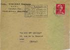 Ob. Secap De Haguenau (sur Un Devant) - Marcophilie (Lettres)