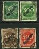 GERMANIA REICH 1923 - SERVIZI - Dienst-marke - N.  50 . . . . Usati - Cat. 10,00 € - L. N. 4092 - Servizio