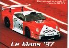 PORSCHE 911 GT 1 CHAMPIONNAT DU MONDE GT LE MANS 1997 - Motorsport