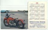 1991 Pocket Poche Bolsillo Calender Calandrier Calendario  Motorbikes Motorcycles Motos  Collection Of  2 - Big : 1991-00