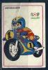 1986 Pocket Poche Bolsillo Calender Calandrier Calendario  Motorbikes Motorcycles Motos Mexico 86 Nº 60 - Big : 1981-90