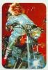 1987 Pocket Poche Bolsillo Calender Calandrier Calendario  Motorbikes Motorcycles Motos Honda - Calendars