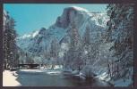 United States PPC CA - Yosemite National Park, California Half Dome And The Merced River In Winter - Yosemite