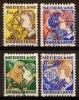 Nederland Netherlands Pays Bas (1932) Tweezijdige Hoekroltanding  94/7 Gestempeld (used, Oblitere) Syncopated - Carnets