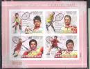 A0423 Sport Olympics 2008 Winners Champions Badminton Guinea-Bissau S/s MNH Imperf Imp - Summer 2008: Beijing