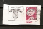 GERMANY SPECIAL STAMPED ANNIVERSARY-EVENTS ON PAPER - Zonder Classificatie