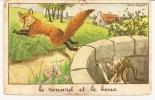 ** LE RENARD ET LE BOUC ** Dessin De CALVET ROGNIAT    -   Editeur : Editions Educatives De Paris   N° / - Peintures & Tableaux