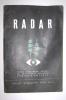 PEL/55 RADAR Supplemento Speciale Del Bollettino Di Ingegneria U.S.I.S. Ufficio Informazioni Stati Uniti 1946 - Altri