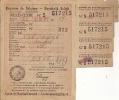 A-A Carnet De Ravitaillement Rantsoeneringskaart Ixelles Elsene 1945 WW2 - Dokumente