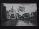 VILLENEUVE-SAINT-GEORGES (Val-de-Marne) - Vue Du Moulin De Senlis - Animée - Voyagée Le 3 Avril 1907 - Villeneuve Saint Georges